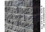 Рваные блоки для забора,  декоративные блоки